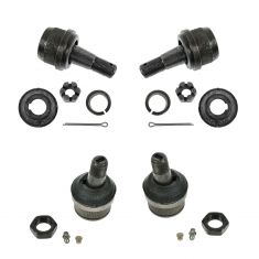 1970-91 Upper & Lower Ball Joint 4WD Kit (Set of 4) (MOOG)
