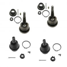 99-08 Chevy, GMC FS Classic PU, SUV; 02-06 Escalade Front Uppr & Lwr Balljoint Kit (SET of 4) (MOOG)