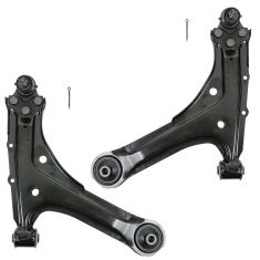 95-05 Chevy Cavalier Pontiac Sunbird Front Lower Control Arm w/Ball Joint PAIR
