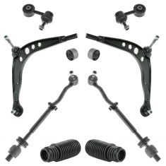 84-91 BMW 318, 325, Front Control Arm, Tie Rod, Sway Bar Link Kit