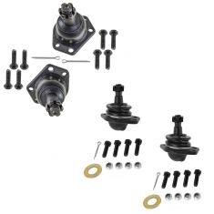 1997-04 Chevy GMC Olds Upper & Lower Ball Joint Set of 4