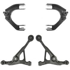 95-06 Cirrus Sebring Stratus Breeze Front Upper & Lower Control Arm PAIR