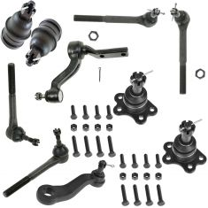 88-92 C1500 C2500 Pickup Suburban Front Suspension Kit