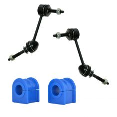 03-12 Crown Vic; Town Car; 03-11 Grand Marquis; 03-04 Marauder Front Sway Bar Link & Bushing Set