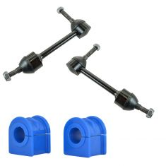 95-97 Ford Crown Victoria, Mercury Grand Marquis, Linc Towncar Front Sway Bar Link & Bushing Set