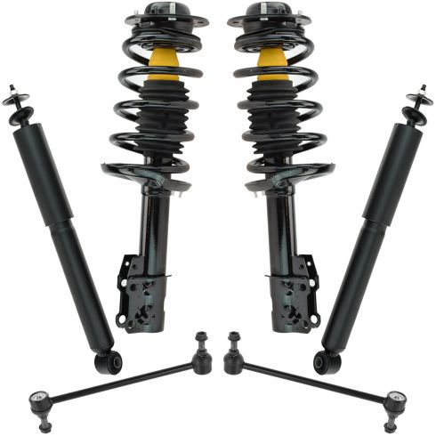 NEW Pair Set of 2 Rear KYB Shock Absorbers For Chevrolet Pontiac G6 Saturn Aura