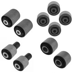 07-12 LS460; 08-14 LS600H Front Upper & Lower Control Arm Bushing Kit (Set of 10)