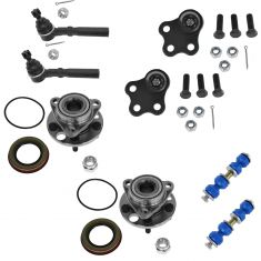 97-05 Chevy Cavalier, Pontiac Sunfire 8 Piece Suspension Kit