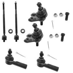 96-02 Prizm, Corolla Tie Rod & Ball Joint Kit (Set of 6)