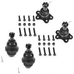 95-00 Chevy GMC 4WD Upper & Lower Ball Joint Kit