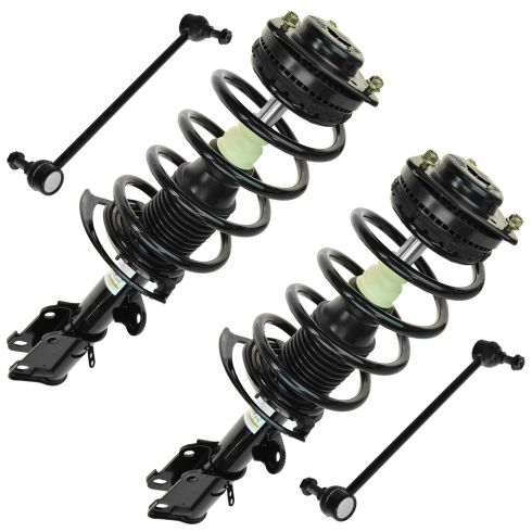 08-14 Town & Country, Grand Caravan (exc Elect Sup) Front Quick Strut & Spring w/ Sway Bar Link
