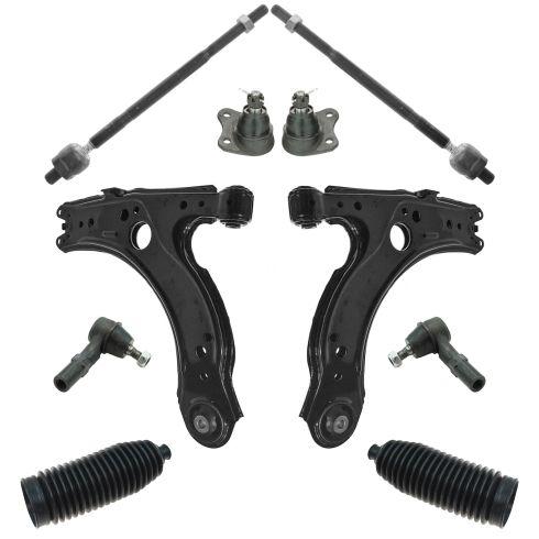 99-06 VW Golf Jetta Beetle Front 10 Piece Steering & Suspension Kit