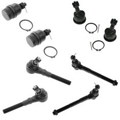 97-04 F150 F250 Expedition; 98-02 Navigator, 02 Blackwood Front Steering & Suspension Kit (8 Piece)
