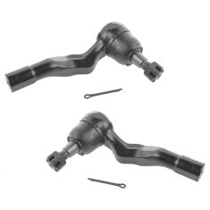 03-09 Nissan 350Z; 03-07 RWD Infiniti G35 Front Outer Tie Rod End Pair