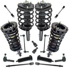 96-07 Ford Taurus; 96-05 Mercury Sable Front Rear Steering & Suspension Kit (16 Piece)