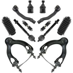 92-95 Honda Civic; 94-97 Acura Integra; 93-97 Del Sol Front Steering & Suspension Kit (12 Piece)