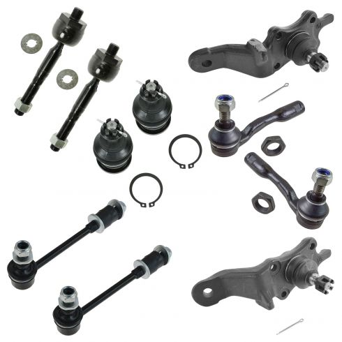 00-02 Toyota Tundra Front Steering & Suspension Kit (10 Piece)
