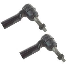 04-09 dodge Durango; 07-09 Chrysler Aspen Front Outer Tie Rod End (w/ 16mm threads) Pair