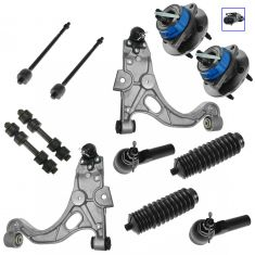 1998-05 Lesabre Regal Deville Aurora Bonneville Steering & Suspension Kit (12 piece)