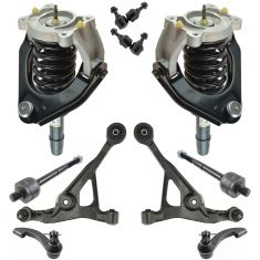 99-00 Cirrus; 01-05 Sebring; 99-05 Stratus; 99-00 Breeze Front Steering & Suspension Kit (12 Piece)