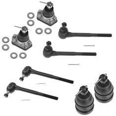 78-95 Buick Chevy GMC Olds Pontiac Steering & Suspension Kit (8 Piece Set)