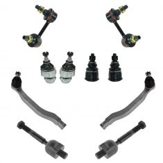 01-03 Acura CL; 99-03 TL; 98-02 Honda Accord Front 10 Piece Steering & Suspension Kit