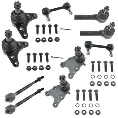 04-06 Chevy Colorado; GMC Canyon (w/ coil spring) Front Steering & Suspension Kit (10 Piece)