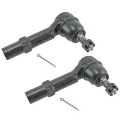 07-14 GM Midsize SUV Front Outer Tie Rod End Pair