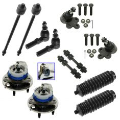 1997-05 Lesabre Regal Deville Aurora Bonneville Steering & Suspension Kit (12 Piece)