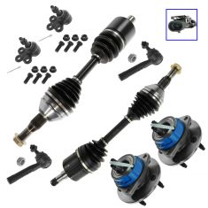 98-05 Venture Silhouette Montana Venture Front Steering & Suspension Kit (8 Piece)