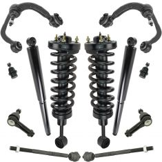 04-08 Ford F150; 06-08 Mark LT 4WD Front Steering & Suspension Kit (12 Piece)
