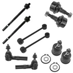 05-10 Jeep Grand Cherokee; 06-10 Commander Front Steering & Suspension Kit (10 Piece)
