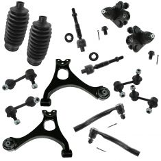 06-11 Honda Civic EX SI 14 Piece Front & Rear Steering & Suspension Kit