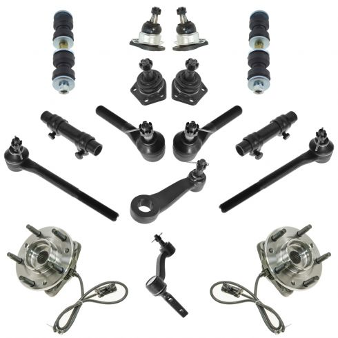 Tie Rod Adjusting Sleeves Inner and Outer Tie Rod Ends Upper ...