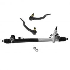 02-09 GM Mid Size SUV (exc Ext WB Models) Power Steering Rack & Outer Tie Rod Kit