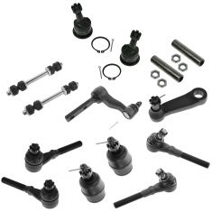 97-04 Ford F150 F250 Expedition; 98-02 Navigator w/4WD 14 Piece Steering & Suspension Kit