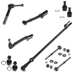 05-07 Ford F250-F550SD 4WD Front Steering & Suspension Kit (10 Piece)