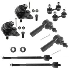 96-02 Prizm Corolla Front Steering & Suspension Kit (8 Piece)