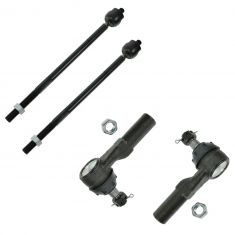 97-99 Dodge Dakota; 99 Durango 2WD Inner & Outer Tie Rod Set of 4