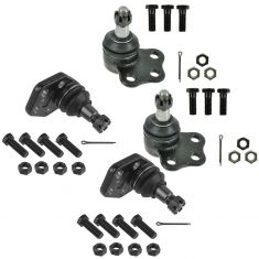 00-02 Dodge Ram 2500, 3500 2WD Upper & Lower Ball Joint Set of 4