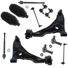 02-05 Sebring Cpe, Dodge Stratus Cpe; 01-05 Eclipse; 01-03 Galant Steering & Suspension Kit (12pc)