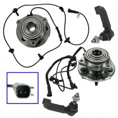 02-05 Jeep Liberty (w/ ABS) Front Steering & Suspension Kit (4 Piece)