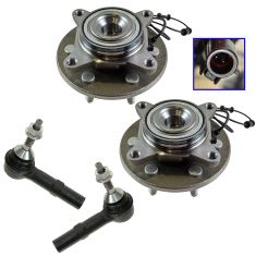 03-06 Ford Expedition, Lincoln Navigator 2WD Front Steering & Suspension Kit (4 Piece)