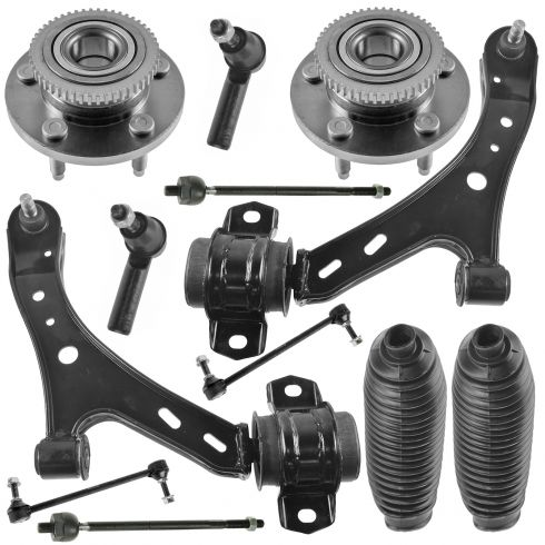 05-10 Ford Mustang Front Steering & Suspension Kit (12 Piece)