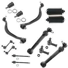 95-00 Chrysler Dodge Eagle Mitsubishi Front 14 Piece Steering & Suspension Kit