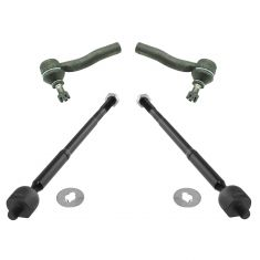 00-05 Toyota Celica Inner & Outer Tie Rod End Set of 4
