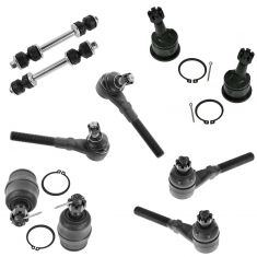 97-04 Ford Lincoln Truck SUV Front Steering & Suspension Kit (10 Piece)