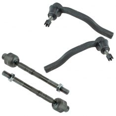 07-15 Mazda CX-9 Inner & Outer Tie Rod End Set of 4