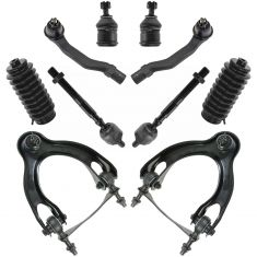92-95 Honda Civic; 94-97 Acura Integra; 93-97 Del Sol Front Steering & Suspension Kit (10 Piece)