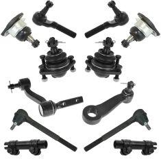 85-94 GM Mid Size SUV & PU Steering & Suspension Kit (12pc)